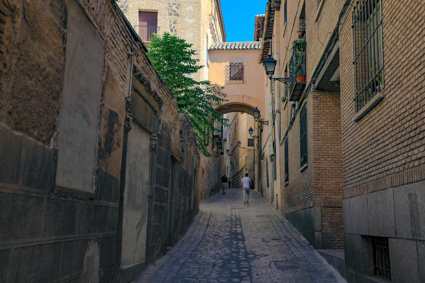 Hoogteverschillen in Toledo